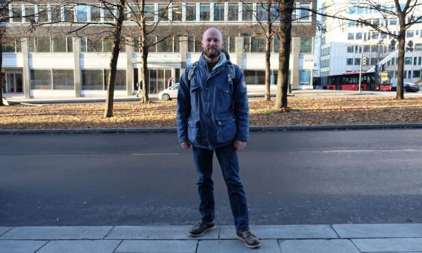 OVERREPRESENTERT: Joachim Espe sier arbeidsinnvandrere har færre rettigheter når de ansettes via bemanningsbyråer. De er også overrepresentert i fagforeningens lønnssaker. Foto: Emili Knutson