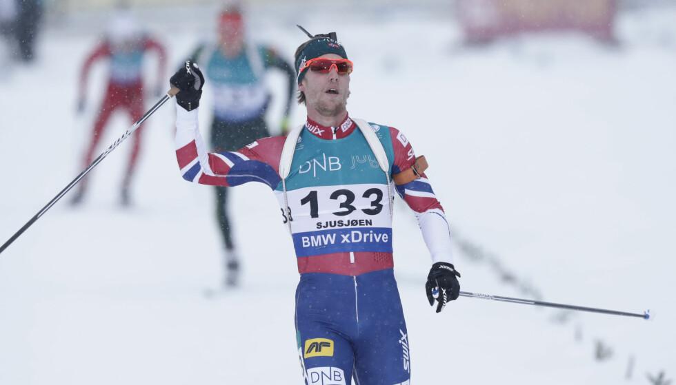 IMPONERTE: Erlend Øvereng Bjøntegaard ble beste norske på Sjusjøen. Foto: Berit Roald / NTB scanpix