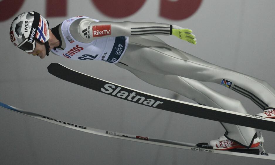 ANKERMANN: Robert Johansson hoppet de norske gutta trygt inn til seier. Foto: NTB Scanpix