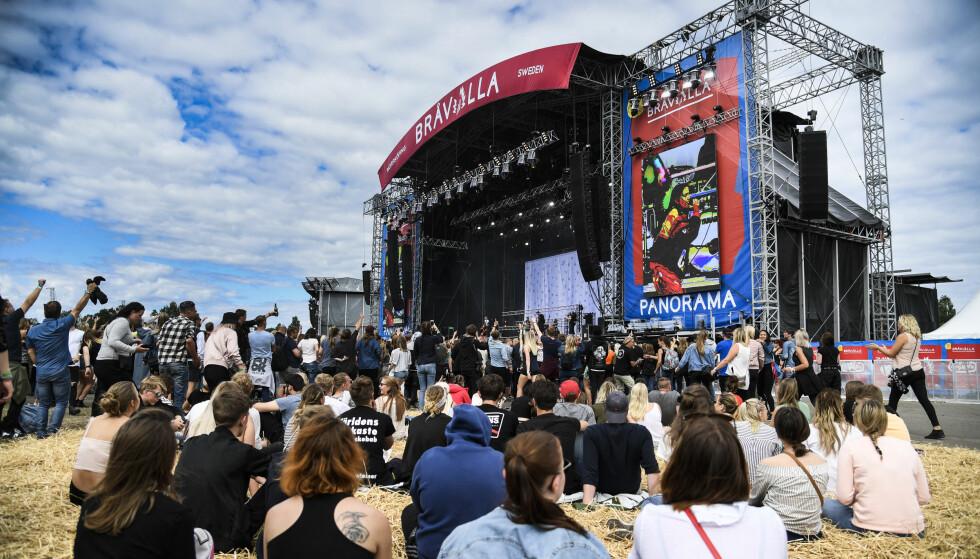 Bråvalla: Det var overgrepsanklager mot denne festivalen som fikk Emma Knyckare til å lansere en alternativ festival uten menn. Foto: NTB scanpix