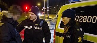 Ungdom i Oslo øst angriper politiet med steiner