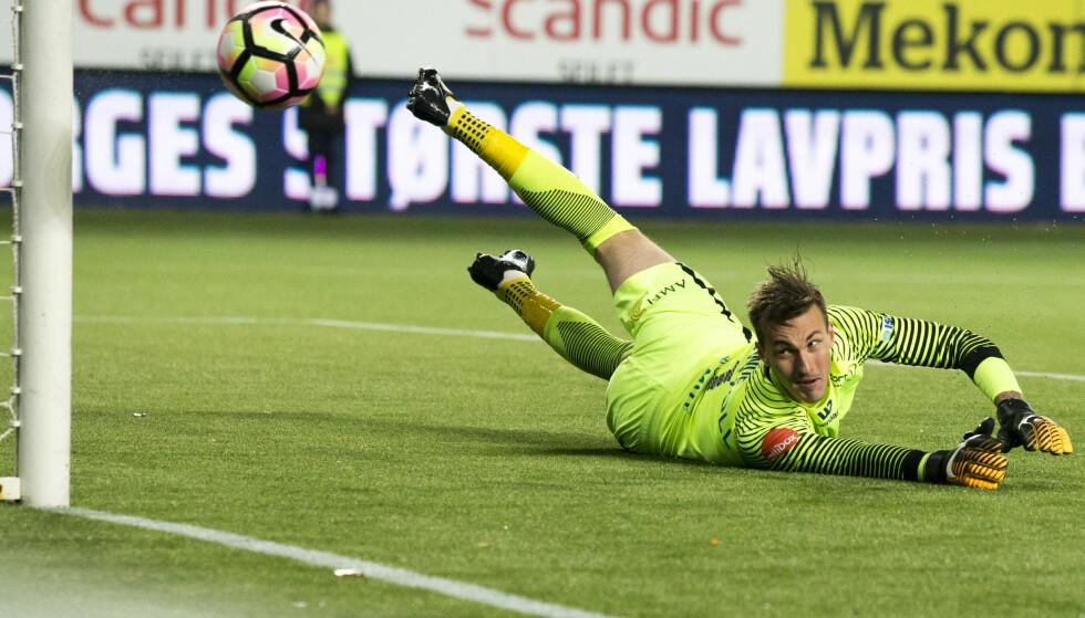 STORSPILTE: Andreas Linde var solid i Molde-målet da de tok tre poeng mot Lillestrøm. Foto: Svein Ove Ekornesvåg / NTB scanpix