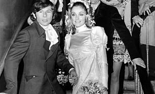 DREPT: Skuespilleren Sharon Tate var gift med den franske regissøren Roman Polanski. Hun var åtte og en halv måned gravid da Manson-familien drepte henne en augustdag i 1969. Foto: AFP photo / STR