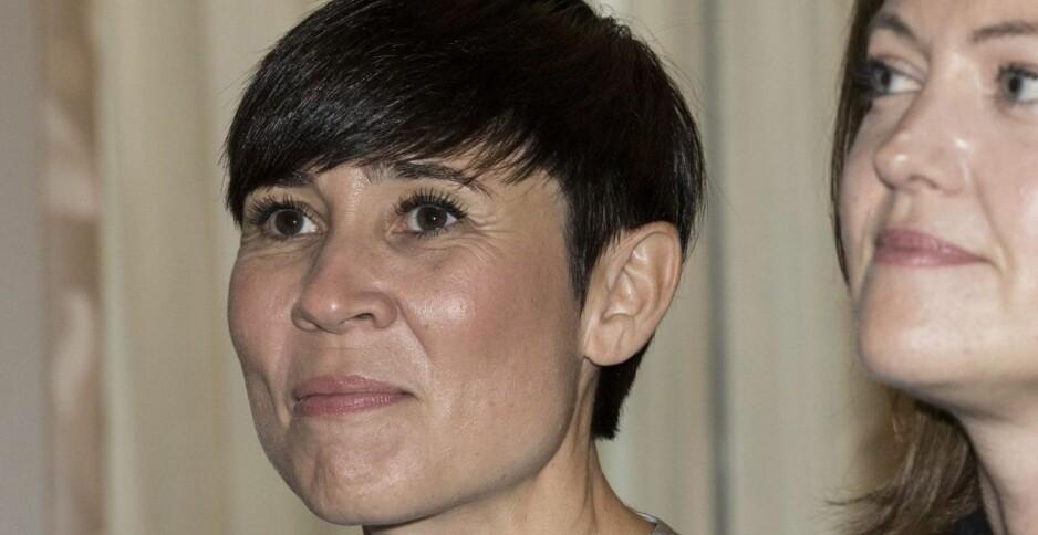 FORSIKTIG I MYANMAR: Utenriksminister Ine Eriksen Søreide (H)