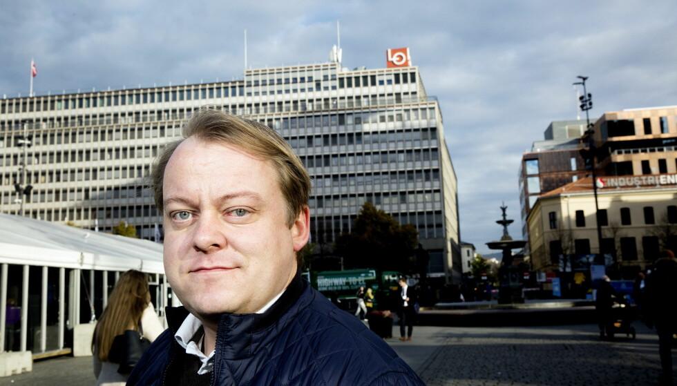 Erlend Wiborg (Frp), leder av Stortingets arbeids- og sosialkomité, mener regjeringen har tatt flere grep for å gjøre folk selvforsørgende. Foto: Henning Lillegård / Dagbladet .