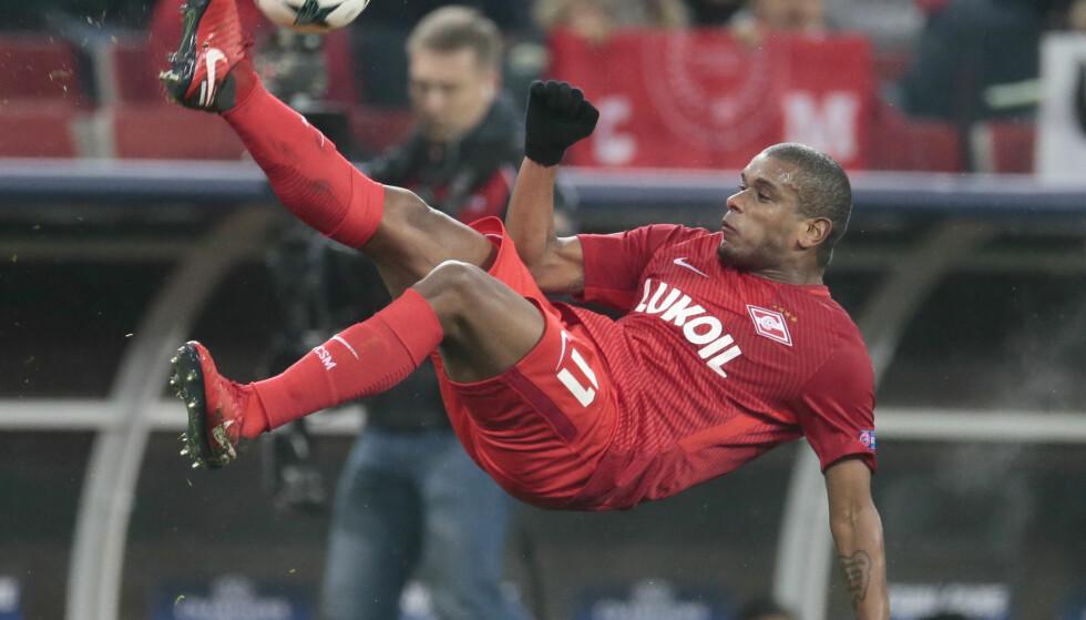 1-1: Mellom Spartak Moskva og Maribor. Foto: NTB Scanpix