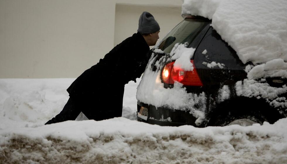REGN OG SNØ: Det blir kraftig nedbør i form av regn og snø flere steder i landet. Foto: Espen Røst S. / Dagbladet