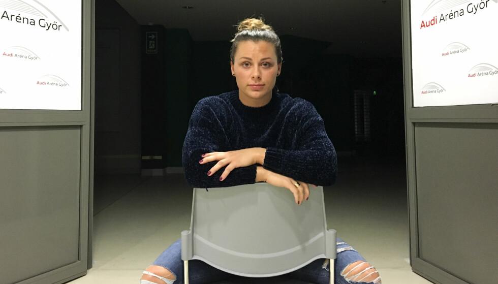 SINGEL: Nora Mørk er singel. Det er slutt mellom henne og fotballkjæresten Stefan Strandberg. Foto: Espen Hartvig / NTB scanpix