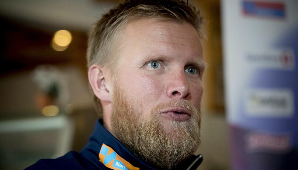 IRRITERT: Tor Arne Hetland forlot TV 2-intervju etter at han fikk spørsmål om Petter Northug. Foto: Bjørn Langsem / Dagbladet.