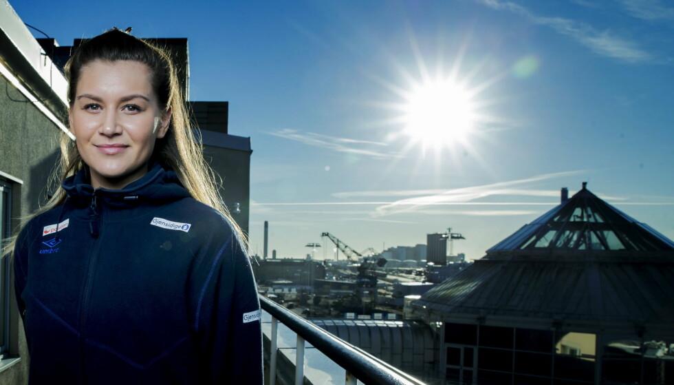VM-STJERNE: Amanda Kurtovic og Norge starter håndball-VM lørdag kveld.  Foto: Bjørn Langsem / Dagbladet