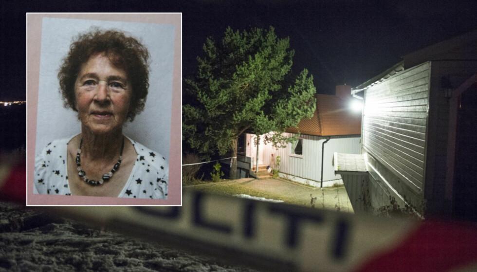 DREPT HJEMME: 84-årige Gudrun Thomassen ble funnet drept i sitt eget hjem på Øyjorda utenfor Finnsnes mandag. En 21-årig kvinne ble pågrepet på stedet. Foto: Hans Arne Vedlog / Dagbladet, Bok I Nord
