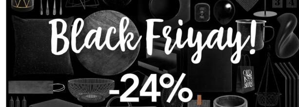 Følg med på de utrolige Black Friday-tilbudene LIVE her!