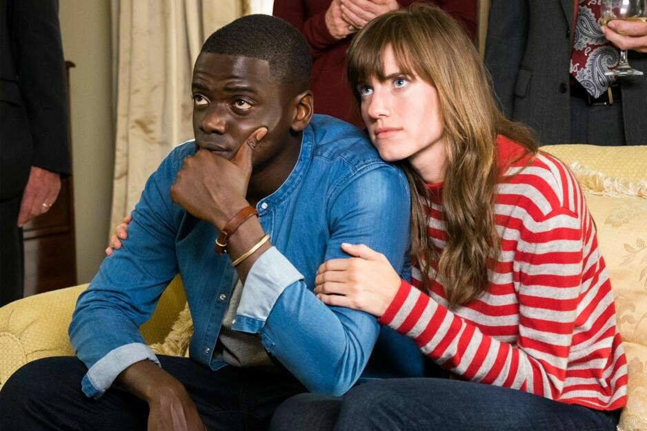 """STERK OPPLEVELSE: Daniel Kaluuya og Allison Williams i den tankevekkende og nifse """"Get Out"""", debutfilmen til Jordan Peele, som setter rasisme på dagsorden."""
