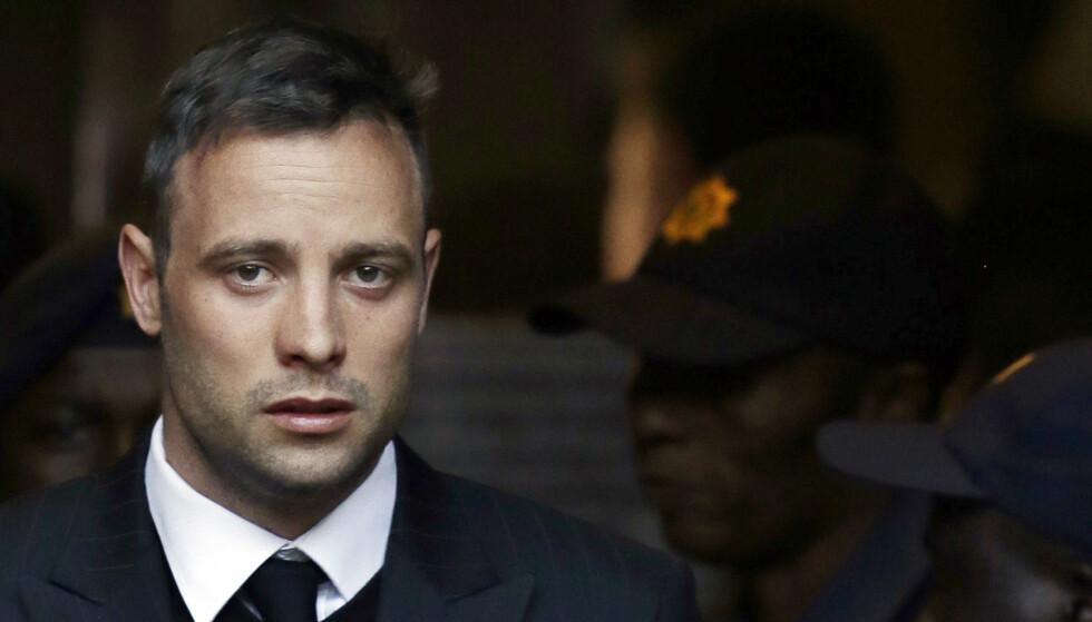 DØMT FOR DRAP: Oscar Pistorius. Foto: AP Photo/Themba Hadebe