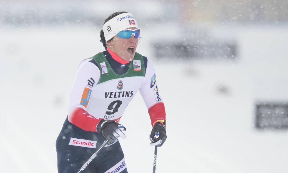 SKUFFENDE START: Marit Bjørgen og de norske langrennsjentene fikk en skuffende start på verdenscupen. Foto: Terje Pedersen / NTB scanpix