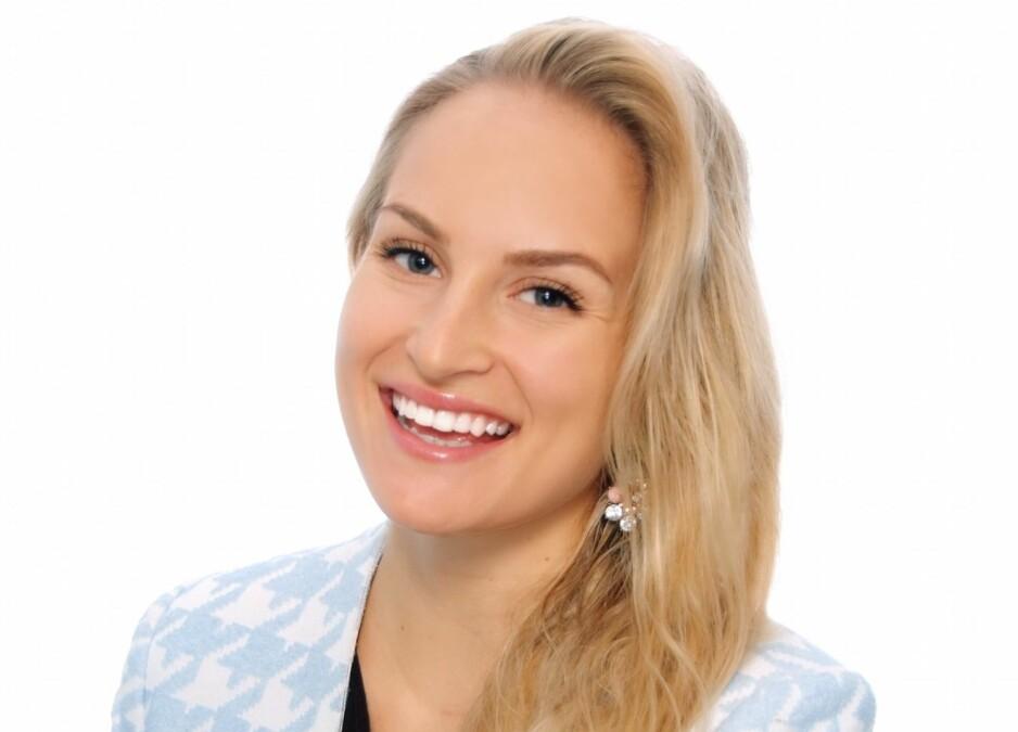 UT MOT #METOO: Alexandra Haudemann-Andersen mener metoo-kampanjen kan gi feil inntrykk av bransjen. Foto: SEB