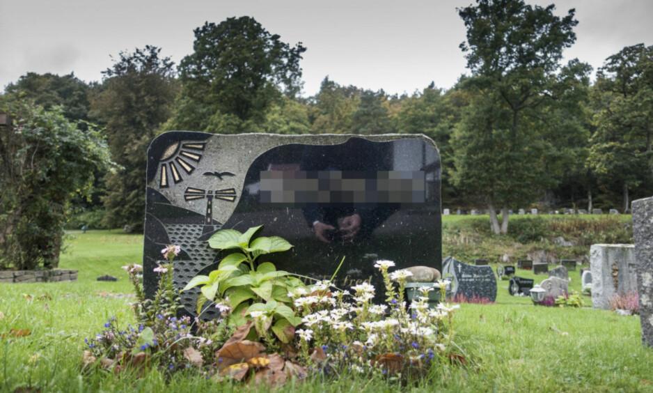 SKAL ÅPNES: Faren til den 42 år gamle drapssiktede kvinnen ble funnet død i 2002. Nå skal graven hans åpnes. Foto: Lars Eivind Bones / Dagbladet