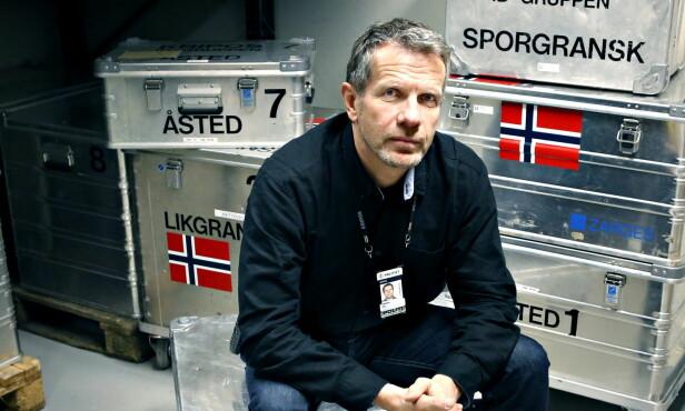 KRIPOS: Per Angel har ledet bådet åstedsgruppa og ID-gruppa i Kriops. Foto: Jacques Hvistendahl/ Dagbladet
