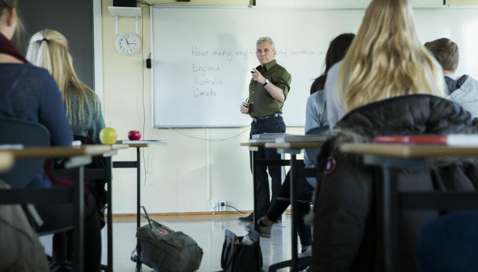 NEI TIL SPESIALKLASSER: Når vi samler ungdom med atferdsproblemer lærer de av hverandre. Problemene øker i omfang og alvorlighet, mener kronikkforfatterne. Foto: Berit Roald / NTB Scanpix