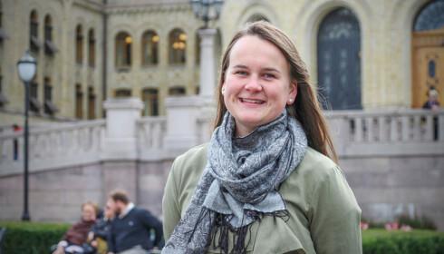 FORNØYD: Marit Knutsdatter Strand, stortingsrepresentant for Senterpartiet, er fornøyd med at Justisdepartementet har snudd. FOTO: Senterpartiet