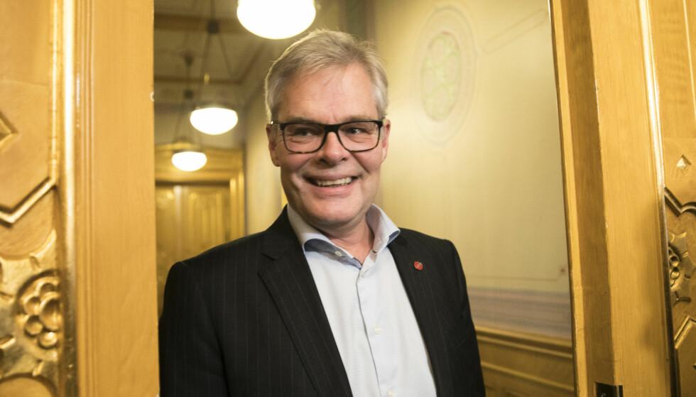 FRP GÅR FRAM: Parlamentarisk leder Hans Andreas Limi i Frp tror partiet tjener på å få synliggjort hva det står for, blant annet i innvandringspolitikken. Arkivfoto: Vidar Ruud / NTB scanpix