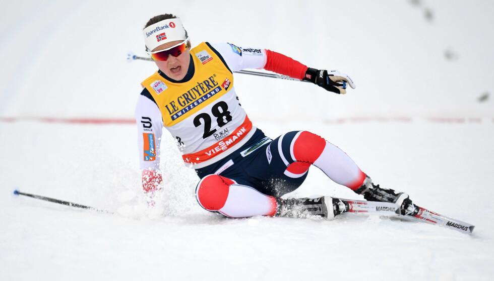 I FORM: Ingvild Flugstad Østberg endte på en tredjeplass i Ruka. Foto: Bildbyrån