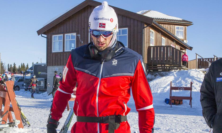 NORGESCUP: Petter Northug har ikke levert toppresultater i langrenn på Gålå. Foto: Geir Olsen / NTB scanpix