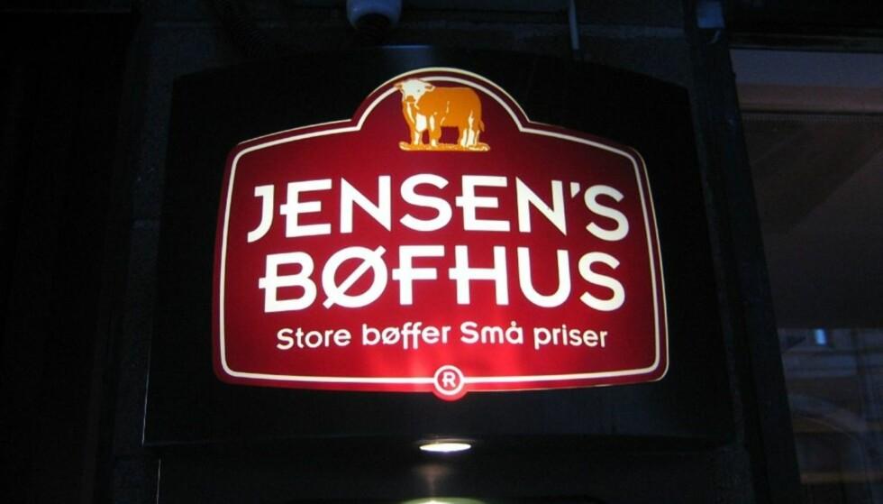 I TRØBBEL: Den danske restaurantkjeden sliter for tiden i motbakke. Foto: Jensen's Bøfhus