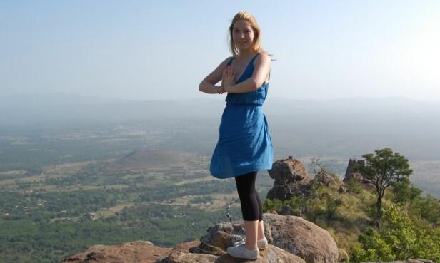 PÅ TUR: Kim Wall var svært reiseglad og jobbet som journalist i blant annet Kina, Cuba, Haiti, Sri Lanka og Marshalløyene. her under en tur til India i 2008. Foto: Annika Ohlsson / SVT