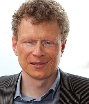 - UVITENHET: Sverre Fuglerud i Blindeforbundet mener synshemmede blir diskriminert blant annet på grunn av uvitenhet. Foto: Blindeforbundet
