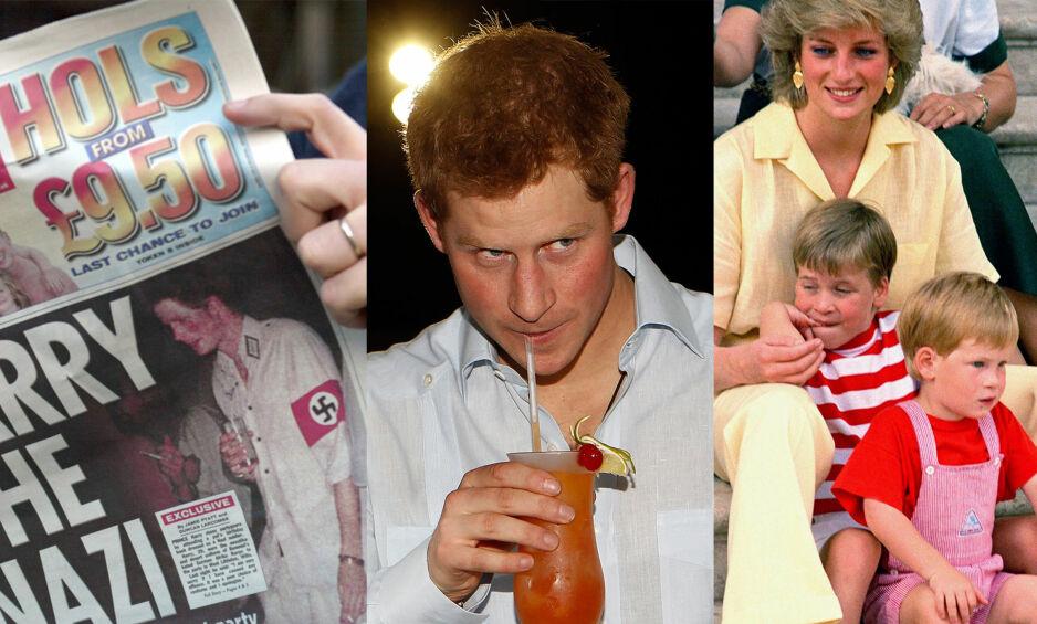 FLERDIMENSJONAL: Prins Harry ble i sin ungdom kjent som litt av en partyprins, og skapte gjerne presseoppslag med utagerende festning, modellkjærester og internasjonale reiser. Mye har skjedd siden den gang. Foto: NTB scanpix