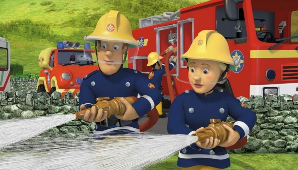 INGEN INNVANDRERE: Pontypandy har riktignok fått en kvinnelig «brannmann», men folk med innvandrerbakgrunn utgjør bare én prosent av de ansatte i brann- og redningsbransjen.