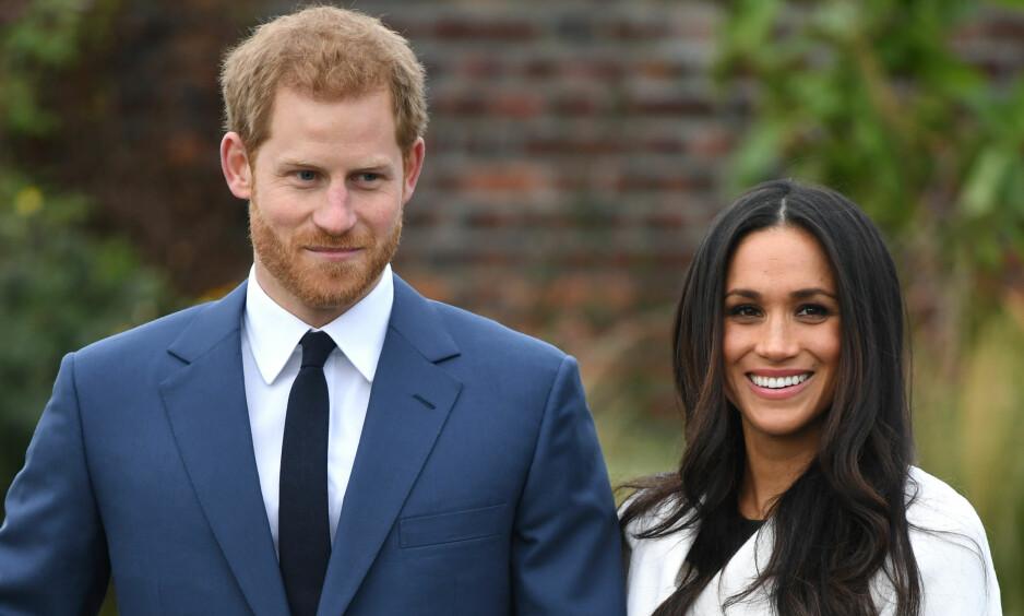 STOR BEGIVENHET: Lørdag gifter prins Harry seg med amerikanske Meghan Markle. Foto: NTB scanpix