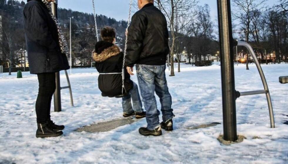 KLAGET TIL EMD: Både mora og hennes foreldre står bak klagen til Den europeiske menneskerettsdomstolen (EMD) etter at den vesle gutten først ble plassert i fosterhjem og deretter tvangsadoptert bort til fosterforeldrene. Foto: Nina Hansen