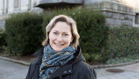 VONDT: Kjersti Elvik syntes det var vondt å lese «Arv og miljø». Foto: Thor Brødreskift