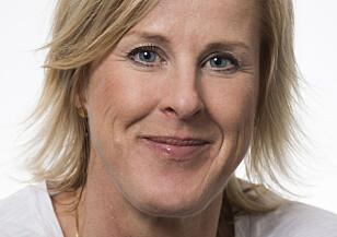 FORBANNA: Leder Åsa Fahlén i Lärarnas riksförbund er en av de nesten 4000 svenske lærerne som har skrevet under oppropet mot fysiske og psykiske krenkelser av lærere. - Jeg synes dette er et bra initiativ, som ikke kommer en dag for tidlig. Man blir forferdelig forbanna når man leser om dette, sier Fahlén. Foto: Elisabeth Ohlson Wallin