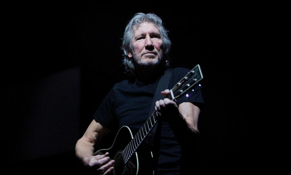 MOT ISRAEL: Den tidligere Pink Floyd-stjernen Roger Waters oppfordrer kolleger til ikke å holde konserter i Israel. Nå blir han selv boikottet - i Tyskland. Foto: Eirik Helland Urke