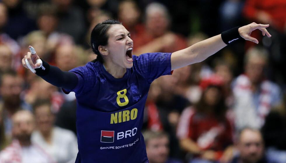 VERDENS BESTE? Både Randi Gustad og Geir Oustorp mener dette er verdens beste håndballspiller. Foto: Jens Dresling/POLFOTO via AP