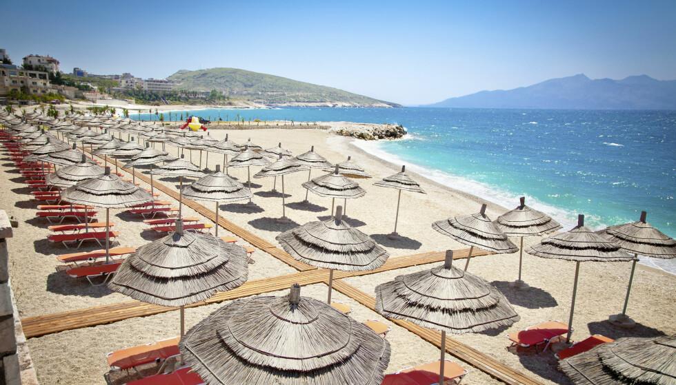 LEKRE STRENDER OG BLÅTT HAV: Mange spår at Albania blir «det nye Kroatia» innen turisme i Europa. Foto: Jenny Martinsson / Apollo