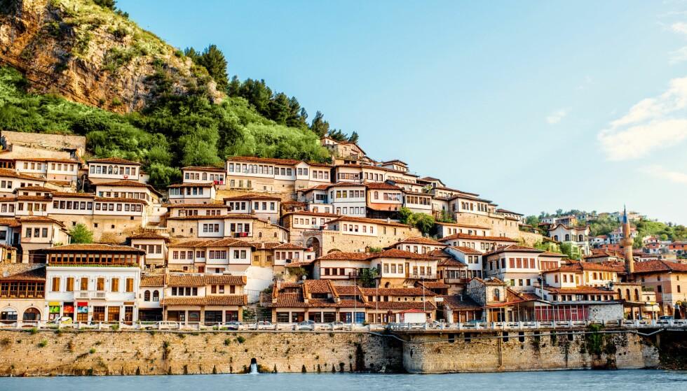 RIK HISTORIE: Albania er rik på historie. Blant annet er byen Berat, som står på Unescos verdensarvliste vel verdt et besøk. Foto: Shutterstock / NTB Scanpix