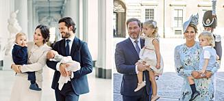 Derfor står ikke prinsesse Leonore (3) og prins Nicolas (2) på gjestelista til dåpen