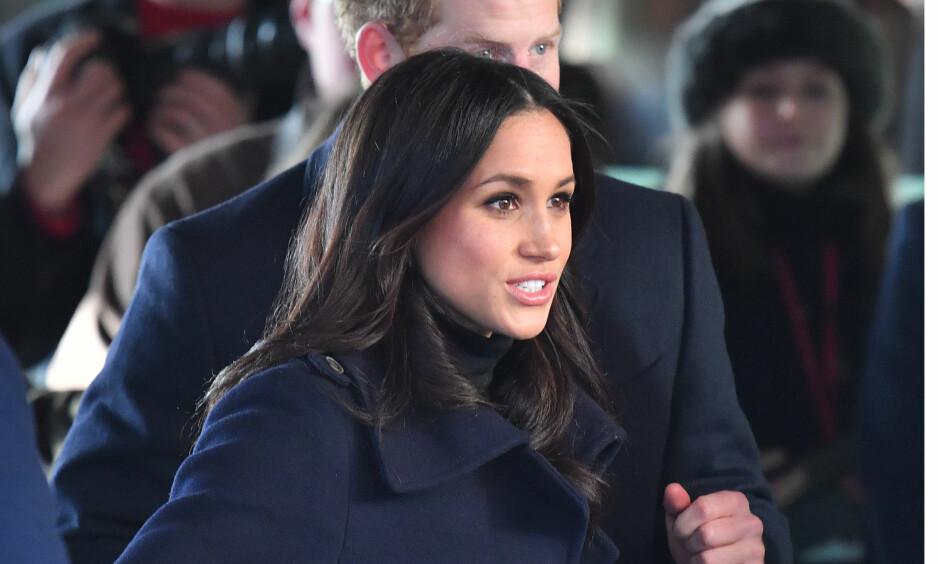 I HARDTRENING: Den kommende kona til prins Harry, Meghan Markle, må gjennom intens sikkerhetstrening for å forberede seg på det kongelige liv. Foto: NTB Scanpix