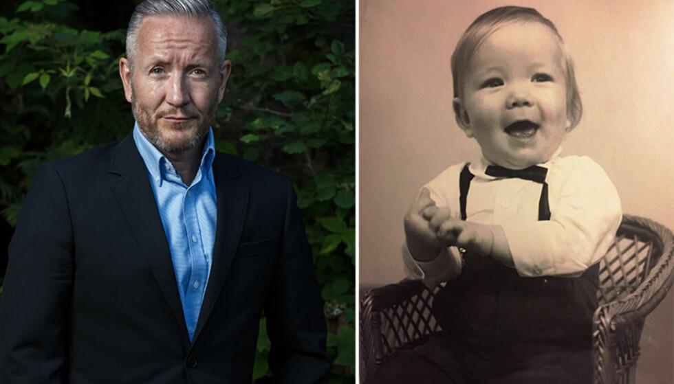 - GOD OG RUND: Geir Magne Haukås avbildet da han var ett år og fire måneder gammel. Foto: TV 2 / Privat