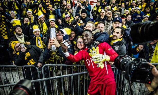 MATCHVINNER: Arnold Origi desket opp med noen fantastiske redninger i sluttminuttene av cupfinalen. Foto: Christian Roth Christensen / Dagbladet
