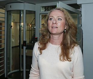 TAR GREP: Statsråd Anniken Hauglie varsler økt innsats mot seksuell trakassering. NTB/Scanpix