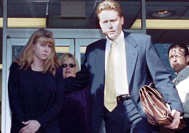 DØMT FOR OVERFALL: Tonya Harding gikk til angrep mot sin egen samboer, og slo ham til blods med en metallgjenstand. Hun måtte blant annet sone fengselsstraff for overfallet. Foto: NTB Scanpix