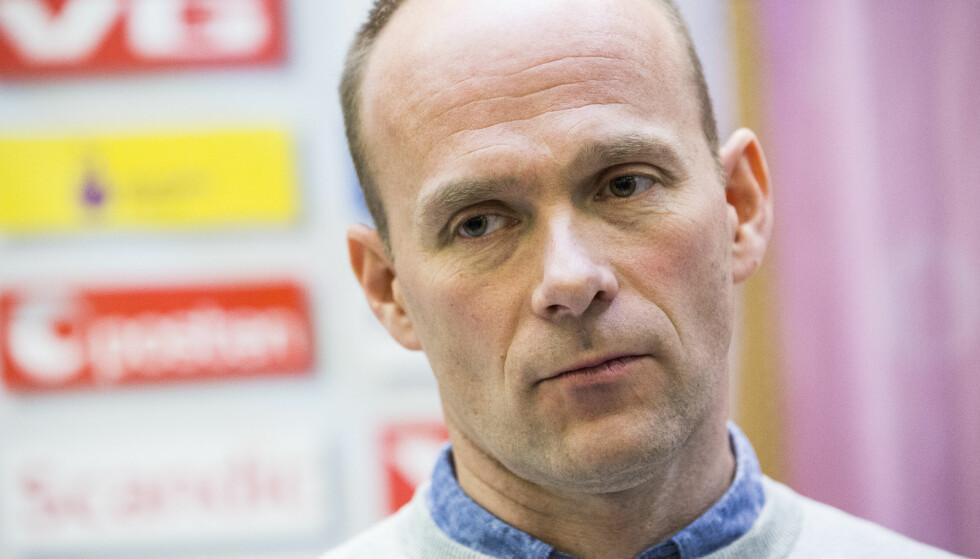 TAR OVER: Geir Oustorp trener allerede Larvik, men får hovedtrenerjobben neste sesong, ifølge TV 2. Foto: Mariam Butt / NTB scanpix