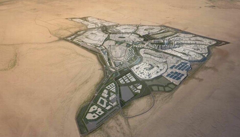 NY HOVEDSTAD: Egypt vil lette på befolkningstrykket i Kairo ved å bygge en ny hovedstad. Illustrasjonsfoto: UDC5
