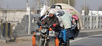 Beijing feier ut fattigfolket