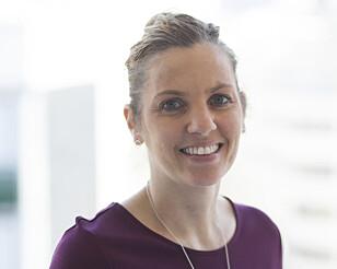 BRA FOR TENNENE: President i Den Norske Tannlegeforening, Camilla Hansen Steinum, er fornøyd med tallene. (Foto: DNT)